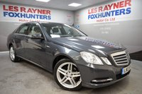 USED 2013 13 MERCEDES-BENZ E CLASS 2.1 E200 CDI BLUEEFFICIENCY S/S SE 4d AUTO 136 BHP Front and rear park sensors, Full Leather, Cruise control, Bluetooth