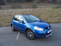 2011 SUZUKI SX4 1.6 SZ3 5d 120 BHP £3990.00