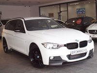 USED 2014 64 BMW 3 SERIES 2.0 320I XDRIVE M SPORT TOURING 5d AUTO 181 BHP M PERFORMANCE STYLING+SAT NAV