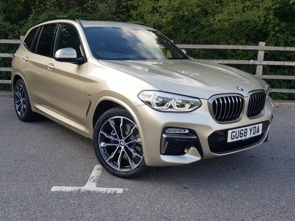 View our 2018 BMW X3 BMW X3 Series X3 M40i 3.0 5dr