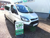 2013 FORD TRANSIT CUSTOM 2.2 310 TDCI 9 SEAT MINIBUS 125BHP 1 OWNER FROM NEW FSH  £11295.00