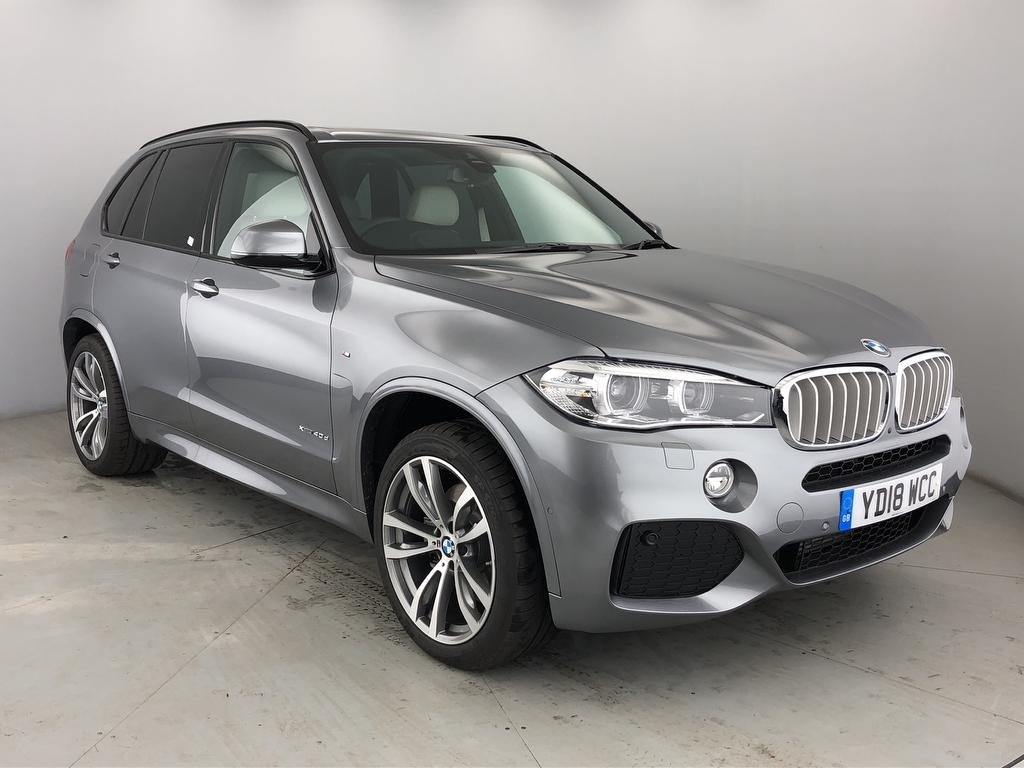 View our 2018 18 BMW X5  3.0 40d M Sport Steptronic xDrive (s/s) 5dr