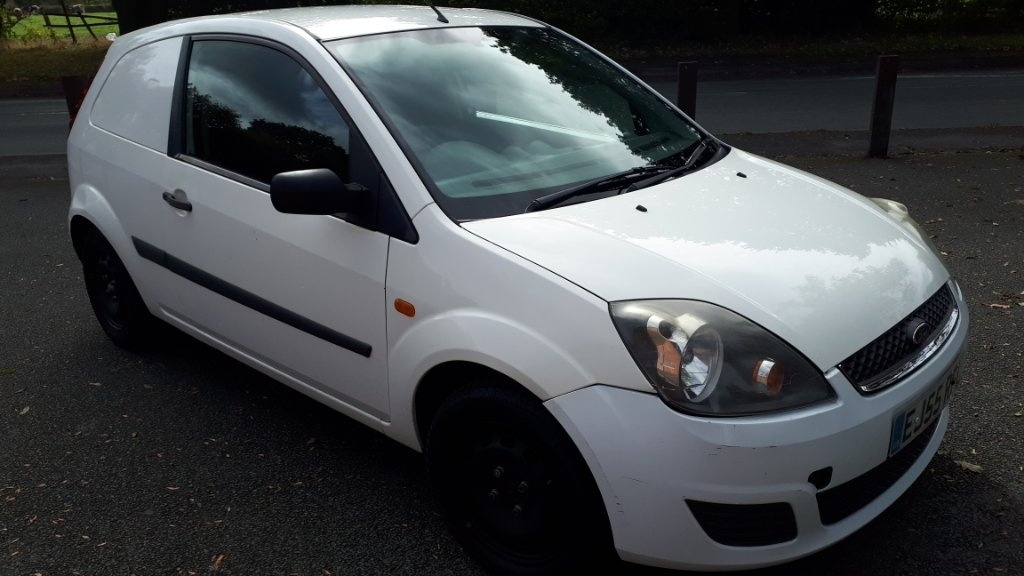 View our 2005 55 FORD FIESTA 1.4 TDCI Panel Van 3dr
