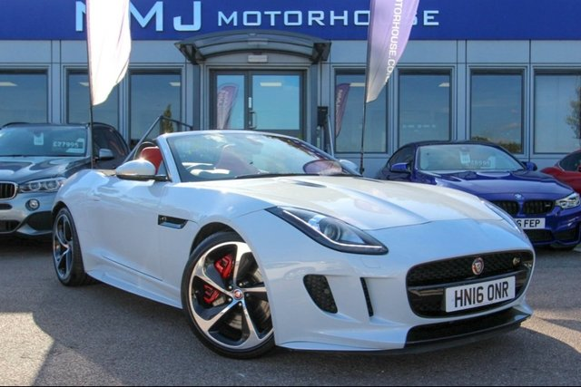 View our 2016 16 JAGUAR F-TYPE 3.0 V6 Supercharged S 2dr
