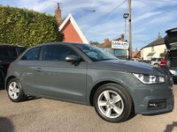 2015 AUDI A1 1.0 TFSI SE 3d WITH FULL SERVICE HISTORY IN NANO GREY  £10500.00