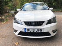 2013 SEAT IBIZA 1.2 TSI FR 5d 104 BHP £6500.00