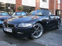 USED 2007 07 BMW Z4 2.5 Z4 SI SPORT ROADSTER 2d 215 BHP