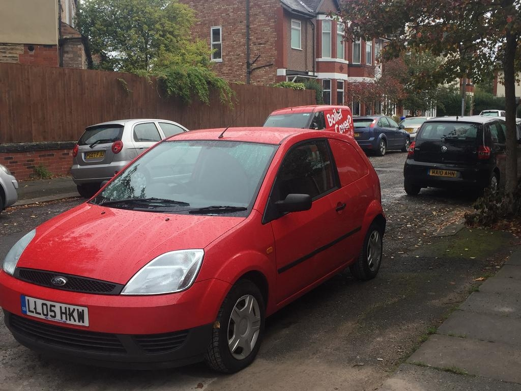 View our 2005 05 FORD FIESTA  1.4 TDCI Panel Van 3dr