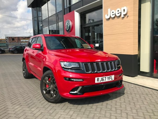 View our 2017 67 JEEP GRAND CHEROKEE 6.4 HEMI SRT 4x4 5dr