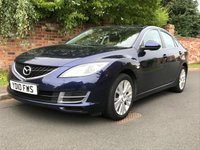 USED 2010 10 MAZDA 6 1.8 TS 5d 120 BHP 2 OWNERS, FULL SERVICE HISTORY, MOT OCT 19, EXCELLENT CONDITION,  ALLOYS, CRUISE, CLIMATE, E/WINDOWS, R/LOCKING, FREE  WARRANTY, FINANCE AVAILABLE, HPI CLEAR, PART EXCHANGE WELCOME,