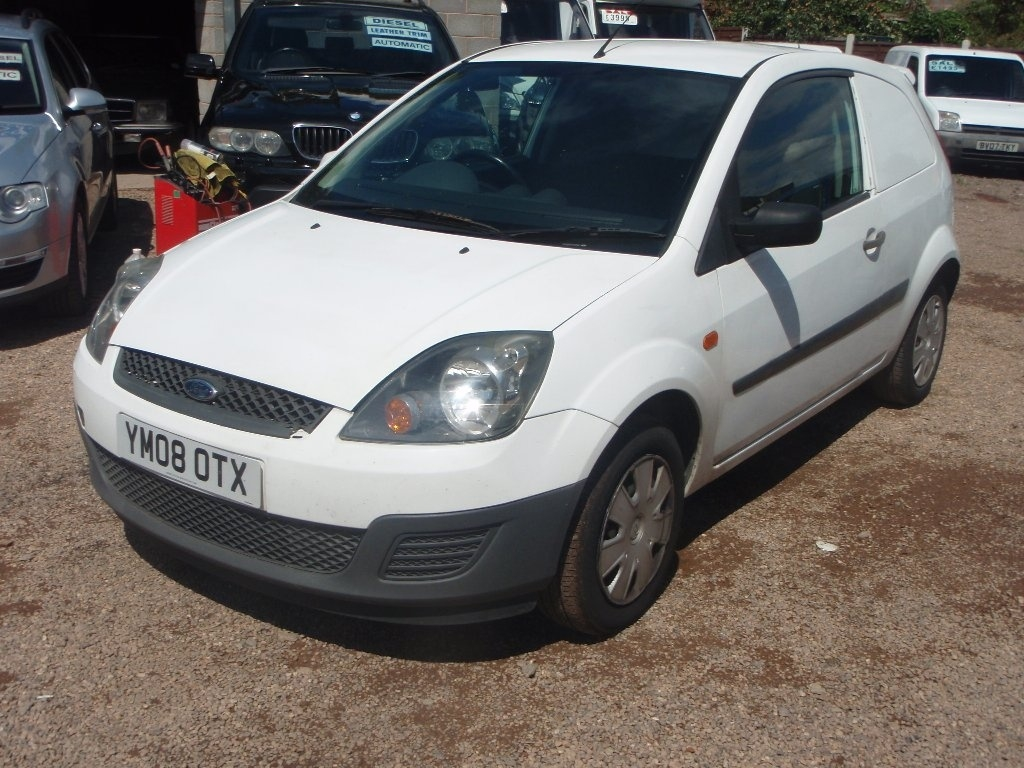 View our 2008 08 FORD FIESTA  1.4 TDCI Panel Van 3dr