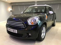 2012 MINI COUNTRYMAN 1.6 COOPER 5d 122 BHP £8750.00