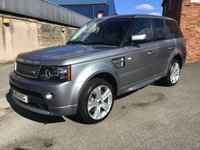 USED 2011 61 LAND ROVER RANGE ROVER SPORT 3.0 SDV6 AUTOBIOGRAPHY SPORT 5d AUTO 255 BHP