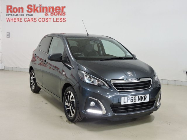 View our 2016 66 PEUGEOT 108 1.2 PURETECH ALLURE 5d 82 BHP