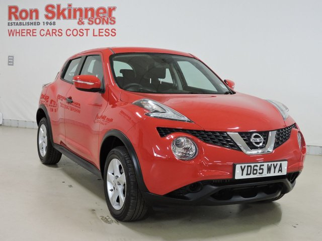 View our 2015 65 NISSAN JUKE 1.5 VISIA DCI 5d 110 BHP
