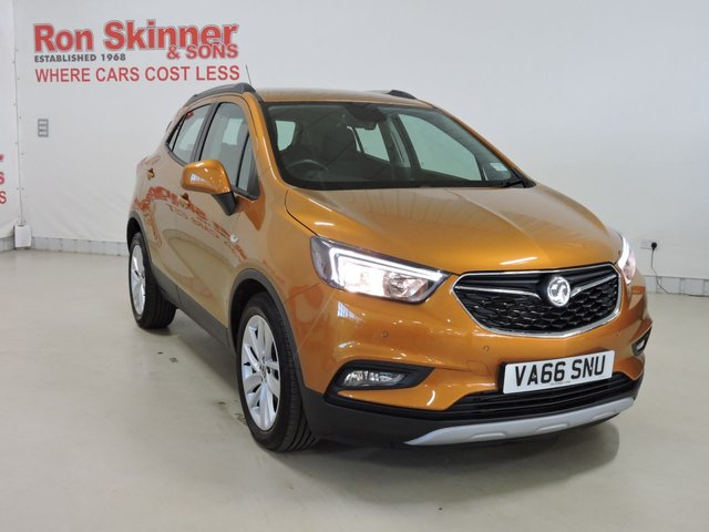 View our 2017 66 VAUXHALL MOKKA X 1.4 ACTIVE S/S 5d 138 BHP
