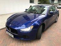 2015 MASERATI GHIBLI 3.0 DV6 4d AUTO 275 BHP £23990.00