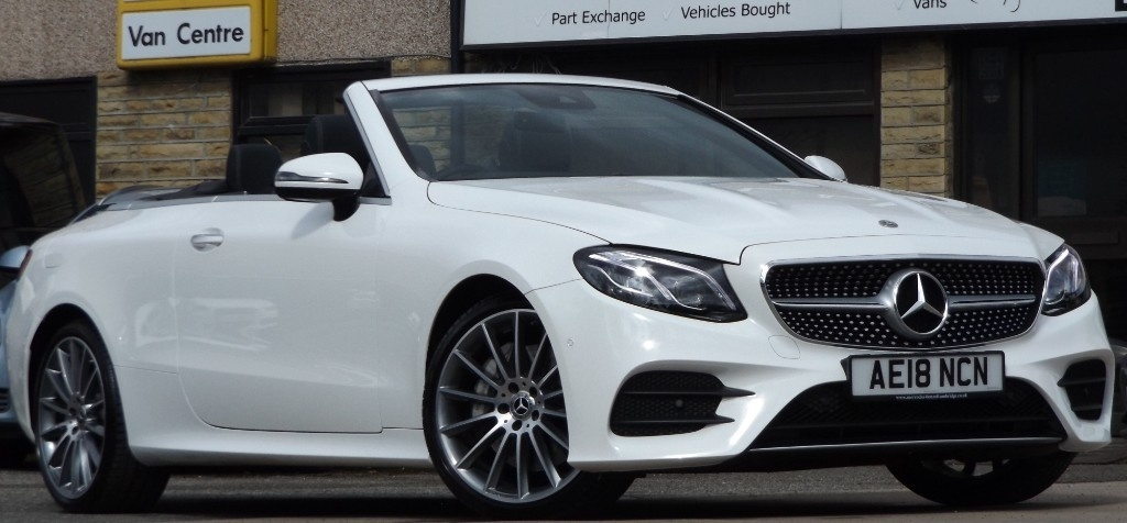 View our 2018 18 MERCEDES-BENZ E-CLASS  3.0 E350d AMG Line Convertible Cabriolet 2dr Diesel 9G-Tronic 4MATIC (254 bhp)