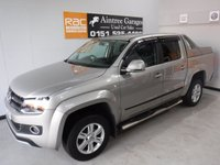 USED 2012 62 VOLKSWAGEN AMAROK 2.0 DC TDI HIGHLINE 4MOTION 4d 161 BHP
