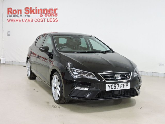 View our 2017 67 SEAT LEON 1.4 TSI FR TECHNOLOGY 5d 124 BHP