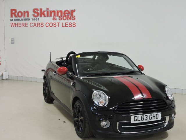View our 2014 63 MINI ROADSTER 1.6 COOPER 2d 120 BHP