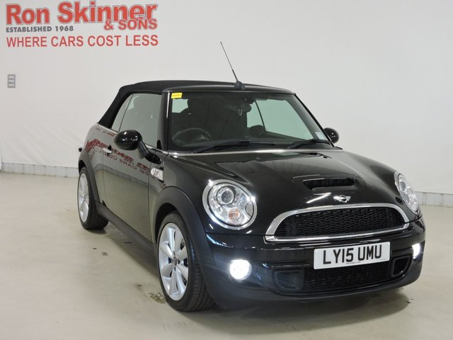 View our 2015 15 MINI CONVERTIBLE 2.0 COOPER SD 2d 141 BHP with CHILI Pack