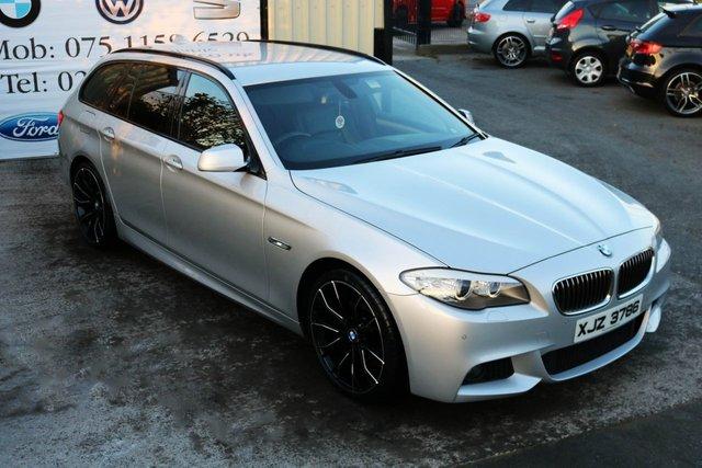 2011 BMW 5 SERIES 520D M SPORT TOURING  STEP AUTO 181 BHP (FINANCE & WARRANTY)