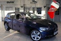 USED 2014 63 BMW 1 SERIES 2.0 120D XDRIVE SPORT 5DR 181 BHP - full bmw service history  FULL BMW SERVICE HISTORY + REVERSE CAMERA + DAB RADIO + BLUETOOTH + CRUISE CONTROL + AIR CONDITIONING + 18 INCH ALLOYS