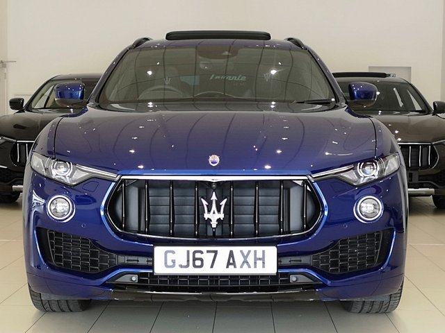 View our 2017 67 MASERATI LEVANTE 3.0 TD (Sport Pack) 4x4 5dr