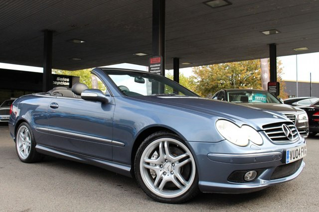 MERCEDES-BENZ CLK at Derby Trade Cars