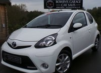 USED 2013 63 TOYOTA AYGO 1.0 VVT-I MODE AC 3d 68 BHP 2 Owner - Low Miles - NIL Road Tax - Full Toyota S/History