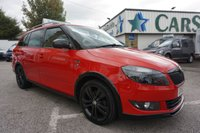 USED 2013 63 SKODA FABIA 1.6 TDI CR MONTE CARLO TECH ESTATE ( £20 TAX ! ) MONTE CARLO SPECIAL EDITION ESTATE WITH £20 TAX !