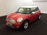 2013 MINI HATCH COOPER 1.6 COOPER 3d 122 BHP £7000.00