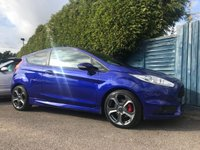 2015 FORD FIESTA 1.6 ST-2 3d 180 BHP WITH STYLE PACK AND ONE OWNER FROM NEW  £10000.00