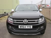 USED 2015 64 VOLKSWAGEN AMAROK 2.0 DC TDI ULTIMATE 4MOTION 4d AUTO 180 BHP NO VAT