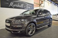 USED 2008 58 AUDI Q7 4.2 TDI QUATTRO S LINE 5d AUTO 326 BHP STUNNING CAR - HUGE SPEC - 6 SERVICE STAMPS TO 107K - SAT NAV - 22 INCH ALLOYS
