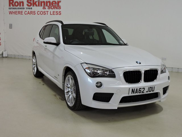 View our 2012 62 BMW X1 (46)    2.0 XDRIVE25D M SPORT 5d 215 BHP