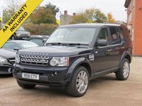 2011 LAND ROVER DISCOVERY 3.0 4 SDV6 HSE 5d AUTO 255 BHP £17995.00