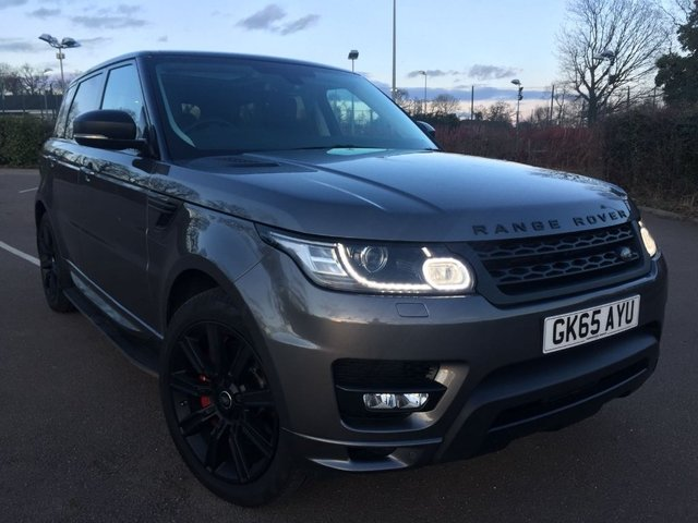 View our 2015 65 LAND ROVER RANGE ROVER SPORT 3.0 SD V6 Autobiography Dynamic 4X4 (s/s) 5dr