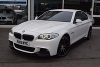 USED 2013 13 BMW 5 SERIES 2.0 520D M SPORT 4d AUTO 181 BHP M-Performance Aero Pack Body Kit