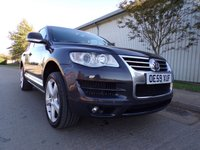 USED 2010 59 VOLKSWAGEN TOUAREG 3.0 V6 ALTITUDE TDI 5d AUTO 240 BHP SAT NAV FULL LEATHER PART EXCHANGE AVAILABLE / ALL CARDS / FINANCE AVAILABLE