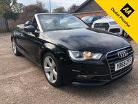 USED 2015 65 AUDI A3 2.0 TDI SPORT NAV 2dr AUTO 150 BHP One owner from new, Full Audi history.