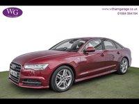 2016 AUDI A6 3.0 TDI S LINE 4d AUTO 215 BHP £21995.00