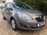 2011 VAUXHALL MERIVA 1.7 SE CDTI 5d AUTO 99 BHP £4000.00