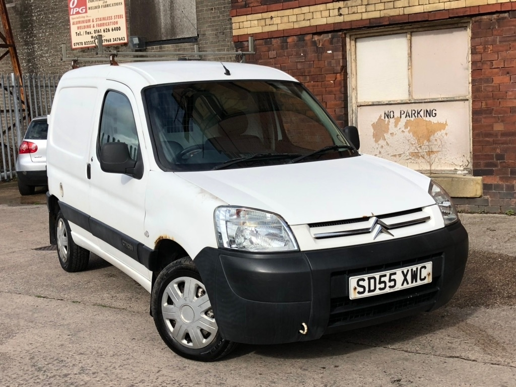 View our 2005 55 CITROEN BERLINGO 2.0 HDi 800TD LX Panel Van 4dr Diesel Manual (90 bhp)