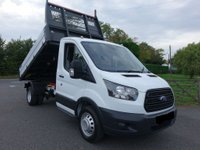 2015 FORD TRANSIT 350 L2 Mwb One Stop Tipper (Double Rear Wheel) 2.2TDCI 125PS