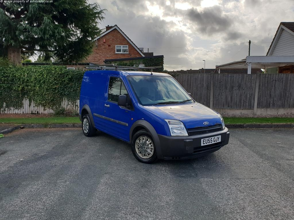 View our 2005 55 FORD TRANSIT CONNECT 1.8 TDCi T220 SWB L Low Roof 4dr