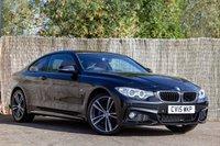 2015 BMW 4 SERIES 2.0 420D XDRIVE M SPORT 2d AUTO 188 BHP £18000.00