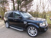 USED 2015 15 LAND ROVER DISCOVERY 4 3.0 SDV6 HSE 5d 255 BHP One Lady Owner From New