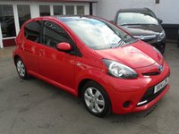 2014 TOYOTA AYGO 1.0 VVT-I MOVE WITH STYLE 5d 68 BHP £6495.00